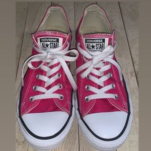 Converse Shoes - Converse All Star Pink Low Top